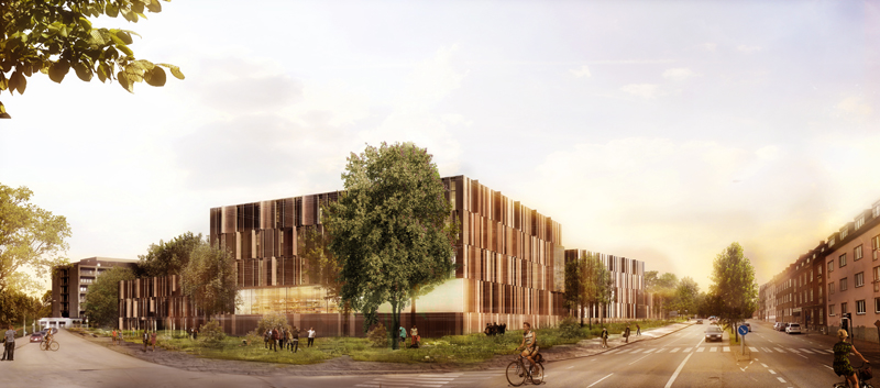 Nya sjukhusområdet Helsingborg